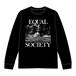 EQUAL SOCIETY Long-Sleeve Shirt Ver.1 BLACK [1914]