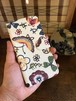 Android用(Lサイズ) 手帳型スマホカバー お花畑