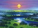 ジョン・ラッテンベリー作「新たな夜明け」ジクレ