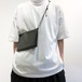 beta post 【ベータ ポスト】 HORIZONTAL SHOULDER  ZIP POUCH