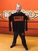 新潟プロレスオリジナルロゴ ロングスリーブTシャツ(ブラック)