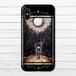 #004-004 iPhoneケース スマホケース 《深い森、月の夜》 作:水無月りい かわいい系 ノスタルジー系 iPhoneX対応 Xperia ARROWS AQUOS