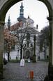 チェコ プラハ ストラホフ教会正門