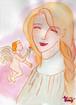 天使と微笑み*水彩画*原画