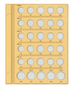 テージー社製 令和コインアルバム スペア台紙 5Set C-40SAA