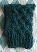 編み込みピチョン帽 グリーン