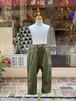 KIDS:NEEDLE WORKS【ニードルワークス】Stretch-chino Pants(カーキ/90〜150cm)ストレッチチノパンツ