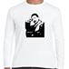 夏目漱石 明治 文豪 歴史人物ロングTシャツ016