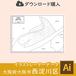 【ダウンロード】大阪市西淀川区(AIファイル)