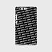 (通販限定)【送料無料】Huawei P10(VTR-L29)_スマホケース ストライプ_ブラック