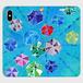 「色水のじかん」 手帳型スマホケース