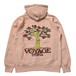 VOYAGE UTOPIA (ヴォヤージュユートピア) / POMEGRANATE HOODED SWEATSHIRT -PINK-