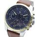 トミー ヒルフィガー TOMMY HILFIGER 腕時計 メンズ 1791561 クォーツ ネイビー ライトブラウン