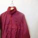 PONY 90's Nylon Shell Half Zipup Pullover Jacket  Dark red size S