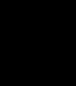 BADFALLロゴステッカー 黒10