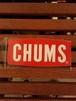 CHUMS チャムス ボート ロゴステッカー S