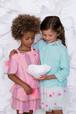 Girls Lurex and Pink Skirt