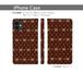 【予約商品・約3週間でのお届け】帯なし手帳型iPhoneケース・ゲスくまモノグラム_SPC08