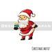 クリスマスモチーフ Christmas motif 0040-L