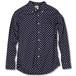 Classic B.D-Shirts Navy Dot