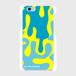 カラフルアメーバちゃん 表面のみ印刷スマホケース iPhone6/6s 白