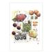 ポストカード:Tropical fruits (MF-012)