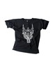 Tシャツ1号 「麻の葉」 黒