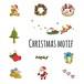 クリスマスモチーフ Christmas motif 0040-A