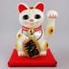 中型ソーラー招き猫 (白)