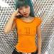 aya made  original T shirts (orange)