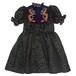 チャイナ刺繍ドレス パープル