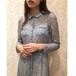 VD-119 (waist ribbon lace dress)