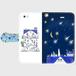 iPhone5/5s/SE 星の花降る夜に 手帳型スマホケース