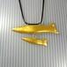 【おやこ魚ペンダント】「ギラギラ」◆送料無料