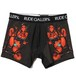 """RUDE DEVILS BOXER SHORTS <ART WORK by Rockin' Jelly Bean>"" (BLACK) / RUDE GALLERY"