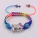 1PC hello kitty kids shamballa bead bracelets & bangles  Halloween gift handmade DIY children bracelets for girls  christmas gift