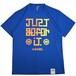 マッドロック -JUST GO FOR IT-Tシャツ/ドライタイプ/ブルー/MADROCK-JUST GO FOR IT-TEE
