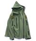 """USA製 [TAD GEAR] """"Stealth Hoodie"""" シャークスキンソフトシェルジャケット オリーブ 表記(LARGE) Triple Aught Design タッドギア ステルスフーディー"""
