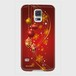 【Galaxyシリーズ】Winter Holiday Gorgeous Red ウィンター・ホリデー ゴージャスレッド ツヤありハード型スマホケース