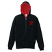R-logo Breast / ジップパーカー(Red/Black)【送料無料】【Shop限定】