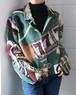 Tramp motif vintage jacket
