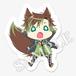 Rear pheles:アクリルキーホルダー/千歳 琥太郎(オオカミVer)