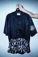 "Rakugaki ""STENCIL & TAGGING"" BaseBall Shirts"