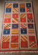 モロッコラグ/絨毯(グラウィ) 202×119