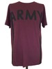 ARMY SHORT SLEEVES -BURGUNDY-