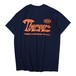 WORK LABEL S/S TEE(NAVY)[TH9S-007]