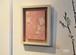 コラージュ作品 襦袢古裂地 枝垂れ桜