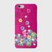 【iPhoneシリーズ】Tropical Pink トロピカル・ピンク ツヤありハード型スマホケース