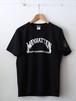 FUJITOSKATEBOARDING Print T-Shirt  MANHATTAN ver. Black,White
