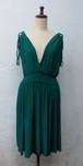 イギリス ワンピース ドレス グリーン USED